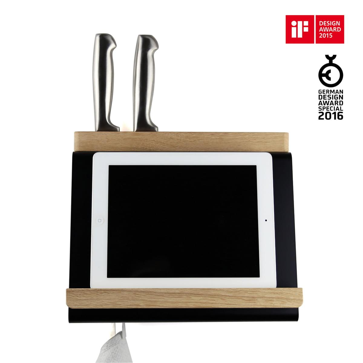 tablet halter von m ller m belfabrikation im shop. Black Bedroom Furniture Sets. Home Design Ideas