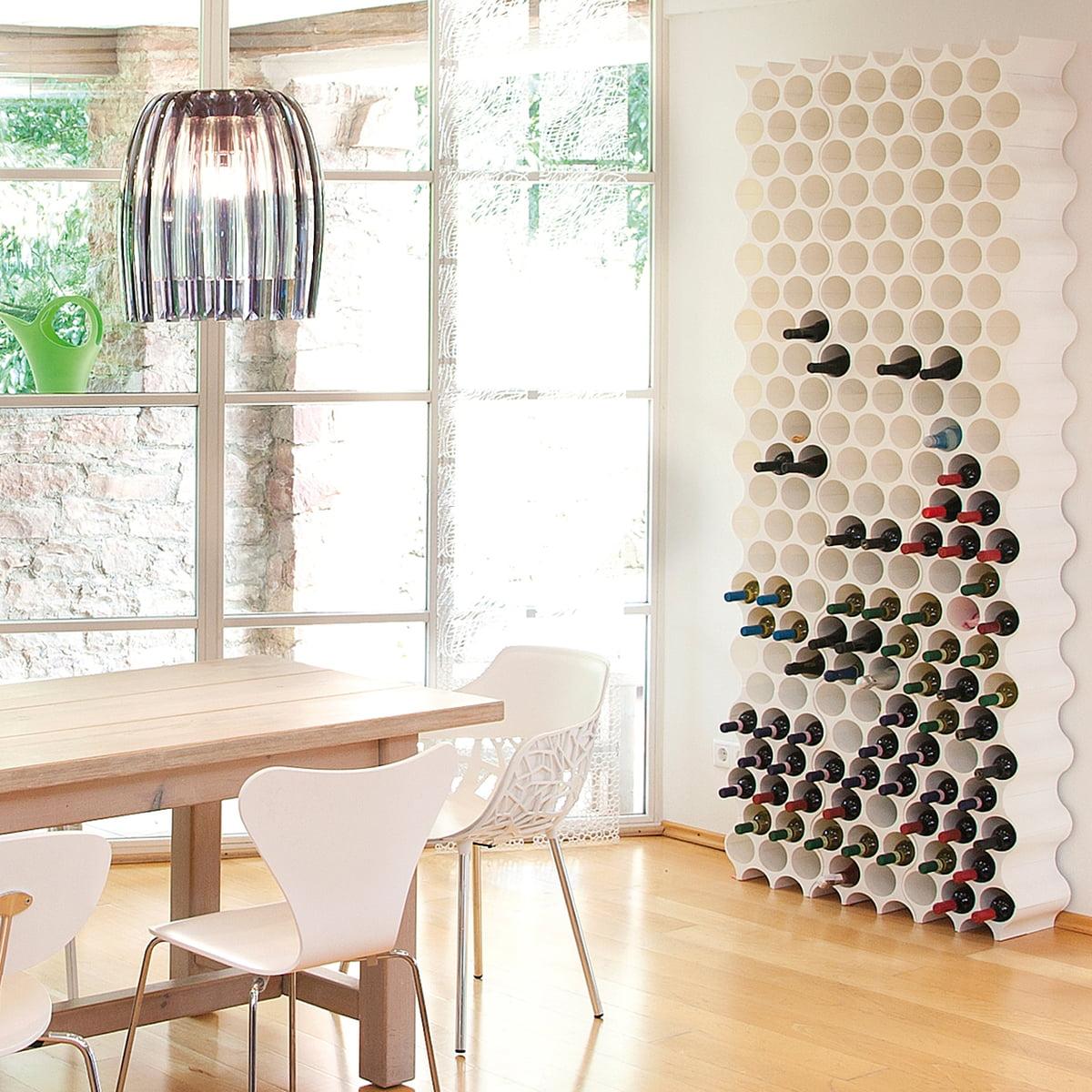 flaschenregal set up koziol shop. Black Bedroom Furniture Sets. Home Design Ideas