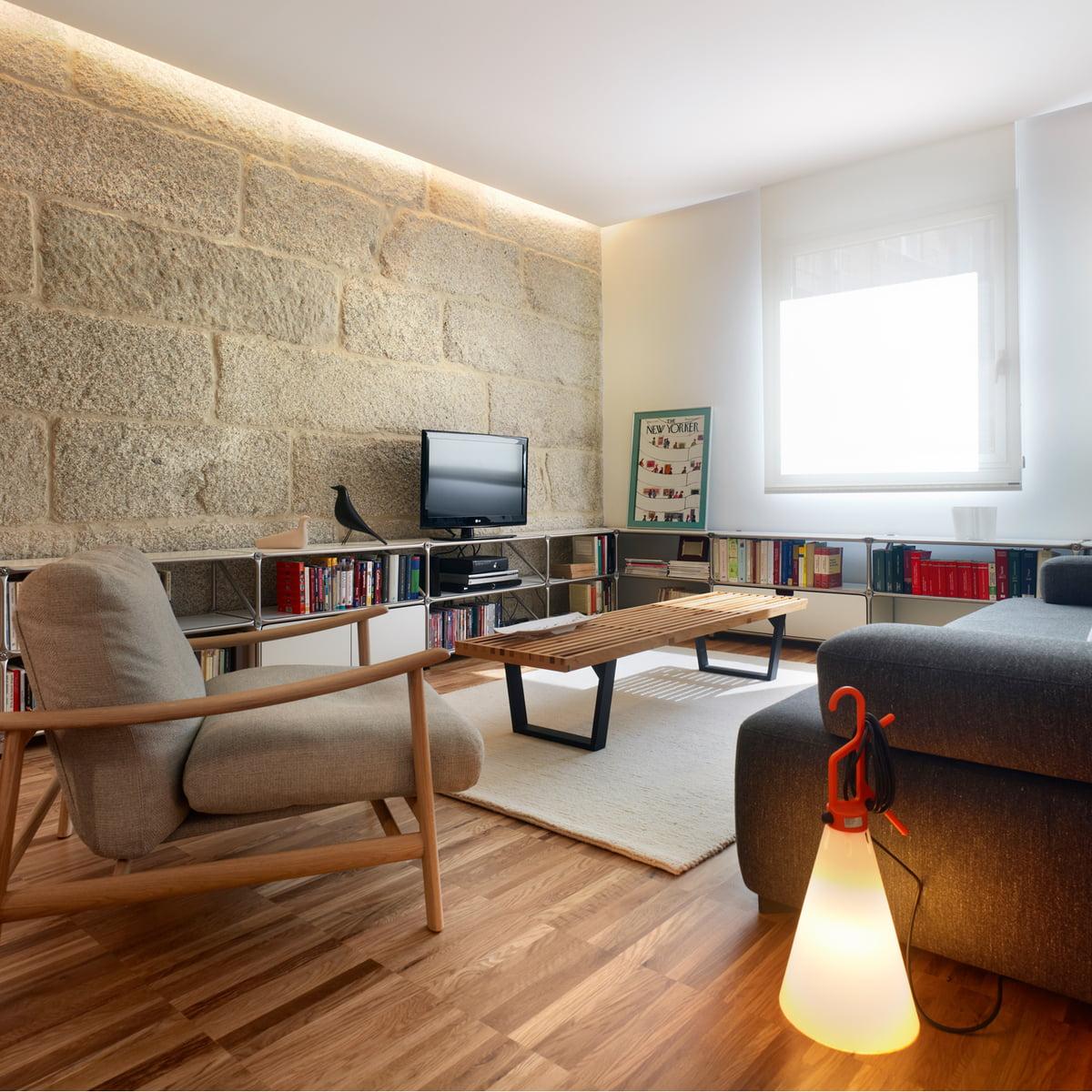 May day mehrzweckleuchte von flos connox for Wohnzimmer design tipps