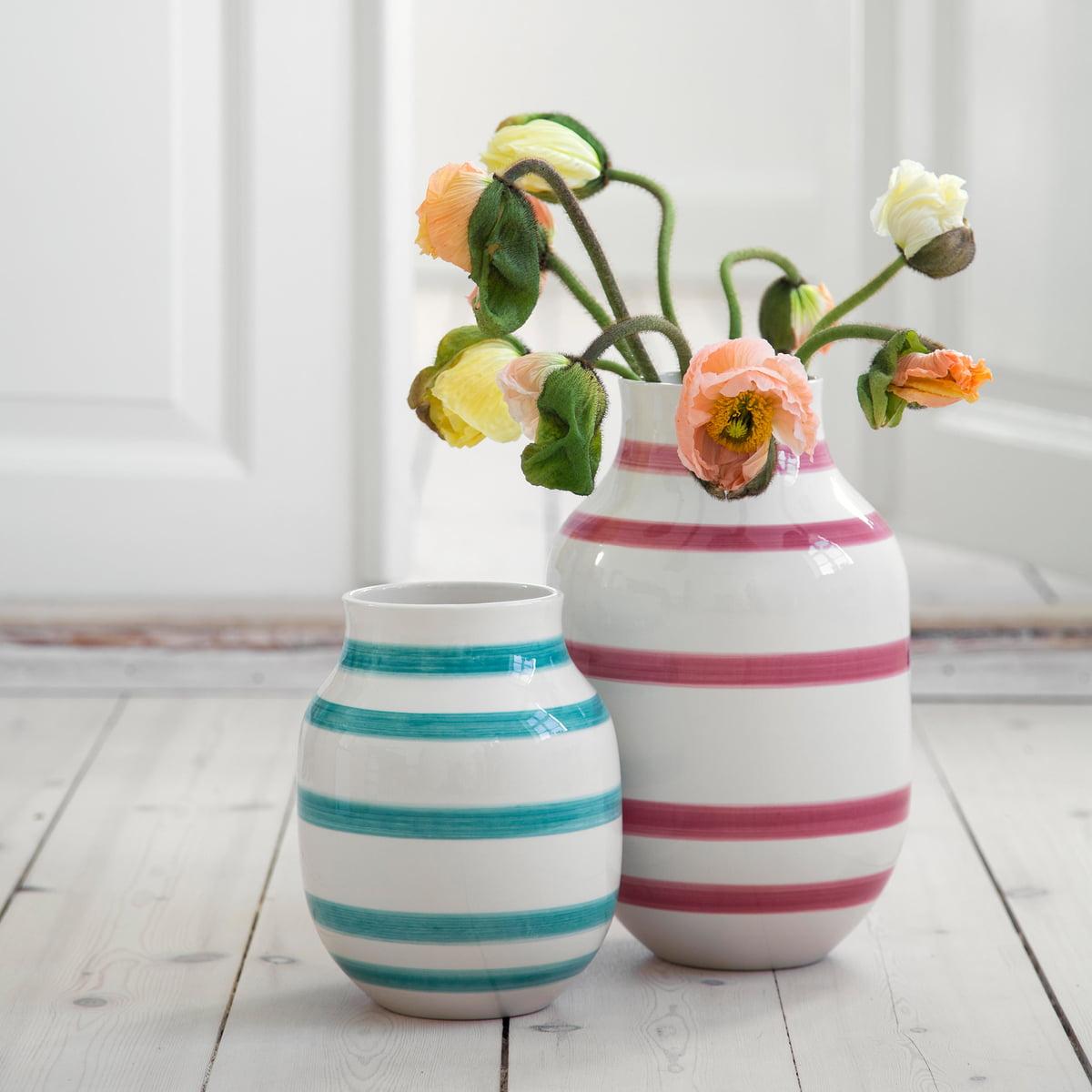 omaggio vase h 30 5 cm von k hler design connox. Black Bedroom Furniture Sets. Home Design Ideas