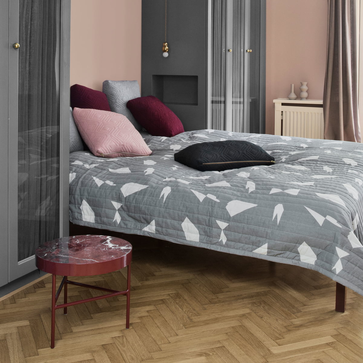 quilt kissen von ferm living im shop kaufen. Black Bedroom Furniture Sets. Home Design Ideas