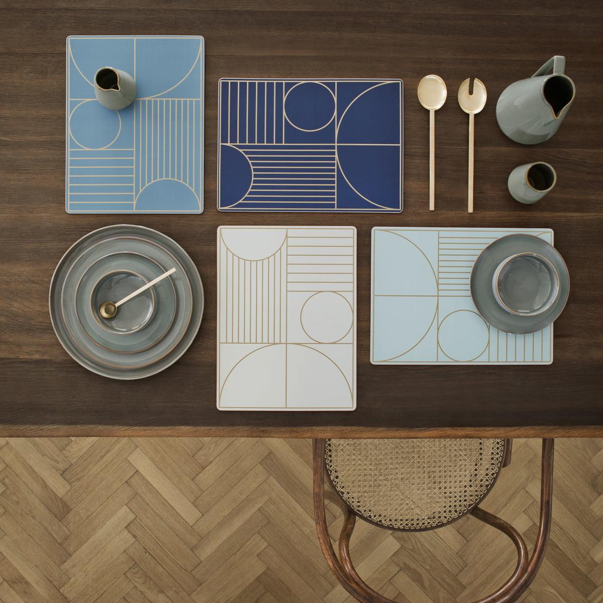 Tischset Outline von ferm Living im Shop