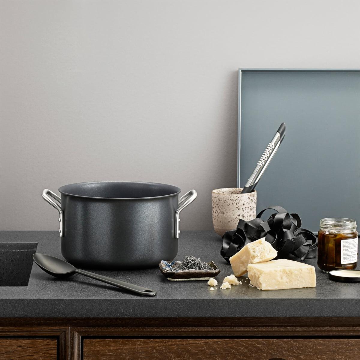 black line topfset von eva trio im shop. Black Bedroom Furniture Sets. Home Design Ideas
