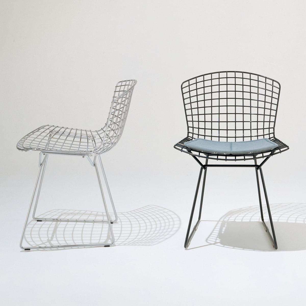 Bertoia stuhl von knoll connox for Design stuhl draht