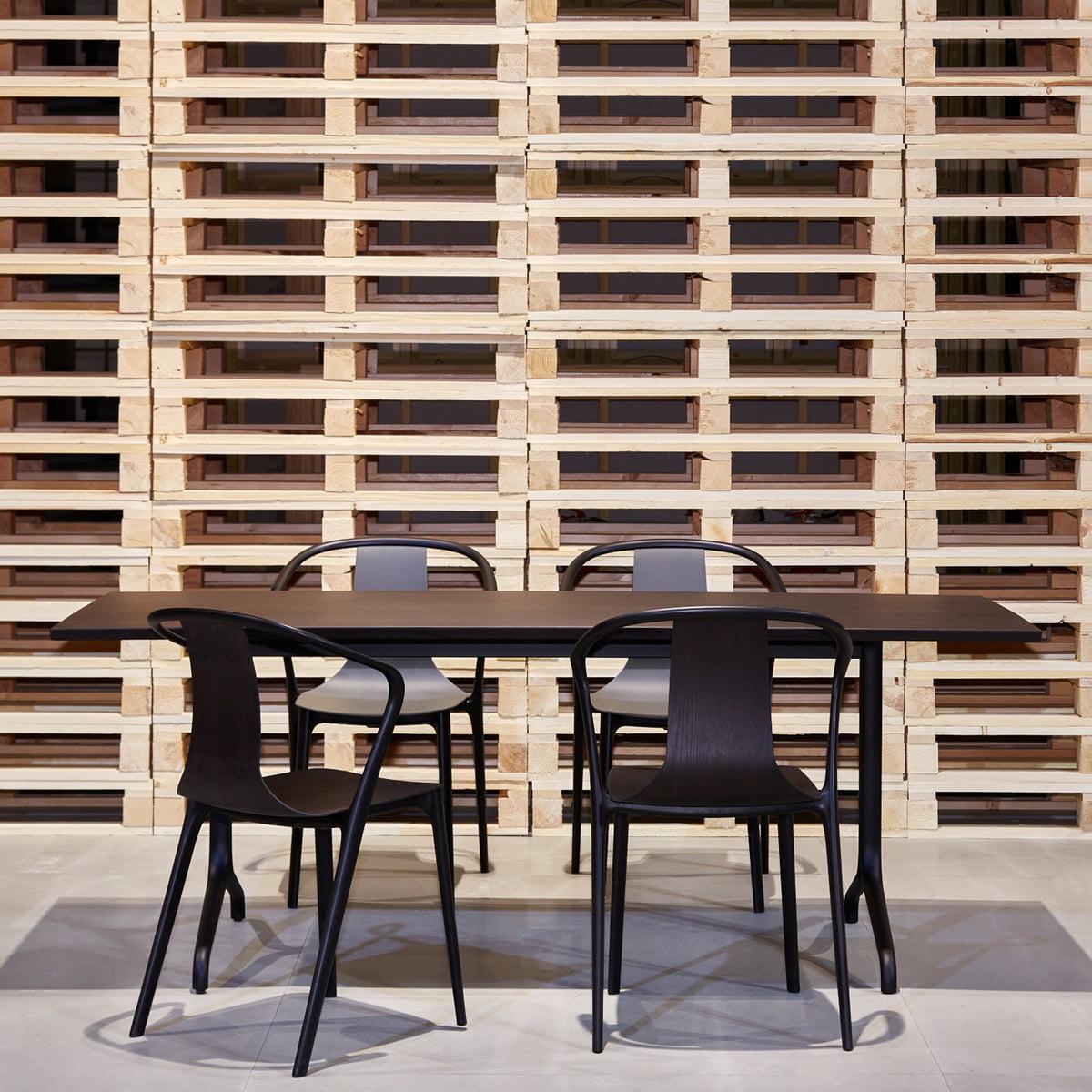 Belleville Esstisch von Vitra im Wohndesign-Shop