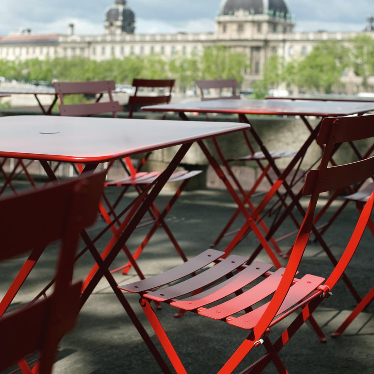 Fermob   Bistro Stuhl Und Tisch · Bistro Klappstuhl Von Fermob Aus Metall  ...