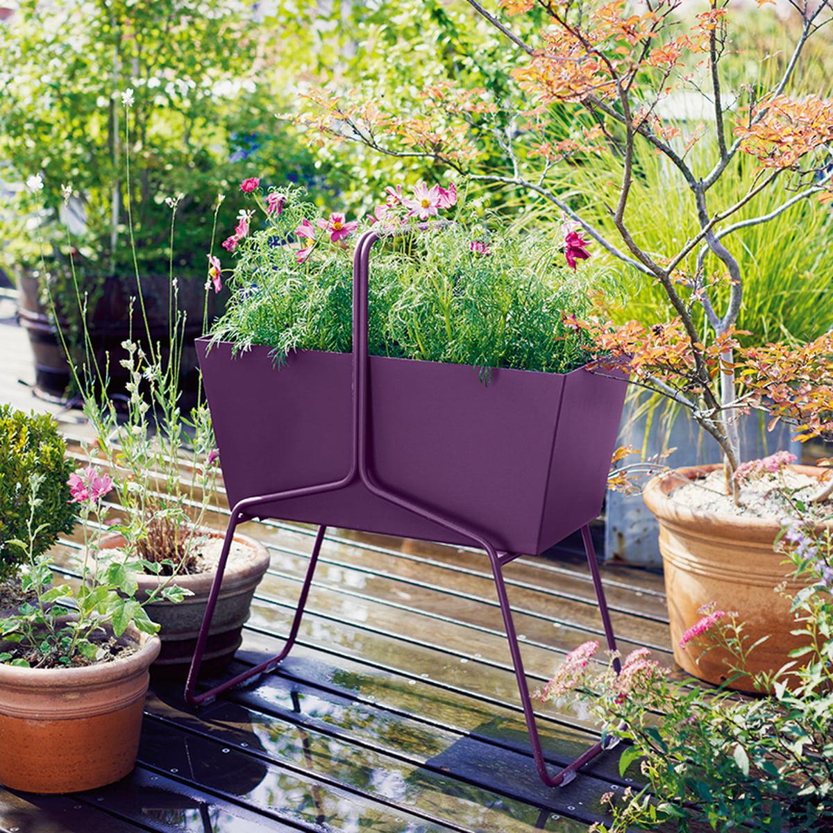 basket blumenkasten hoch von fermob connox. Black Bedroom Furniture Sets. Home Design Ideas