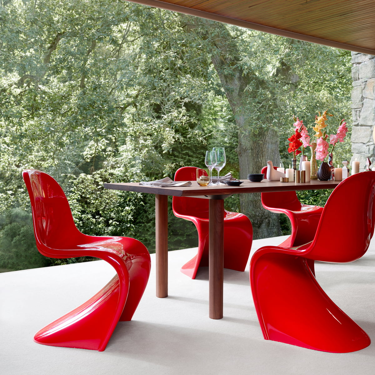 panton chair original stuhl von vitra connox