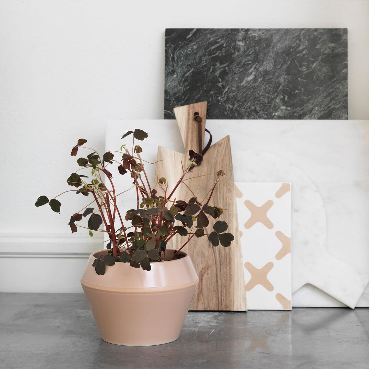 rimm blumentopf gro von by lassen im shop. Black Bedroom Furniture Sets. Home Design Ideas