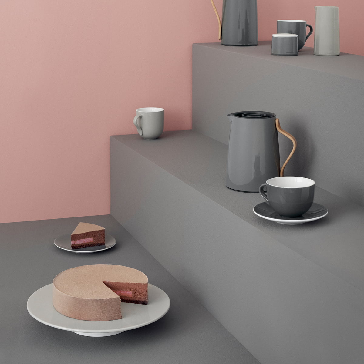 stelton emma tee isolierkanne im design shop. Black Bedroom Furniture Sets. Home Design Ideas