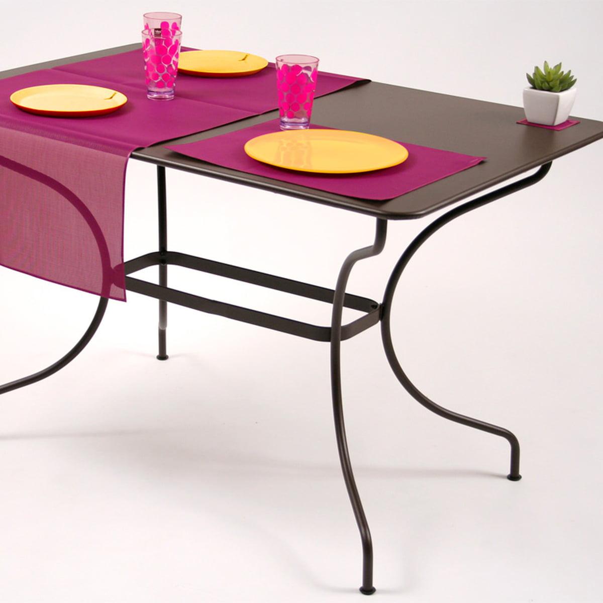 outdoor tischsets von fermob im shop. Black Bedroom Furniture Sets. Home Design Ideas