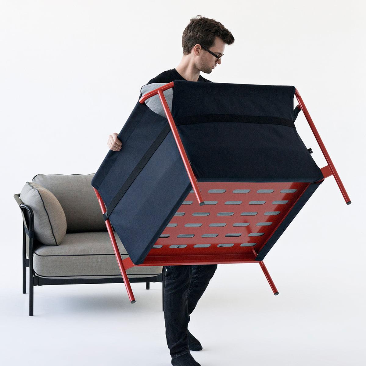 can sessel von hay im wohndesign shop. Black Bedroom Furniture Sets. Home Design Ideas