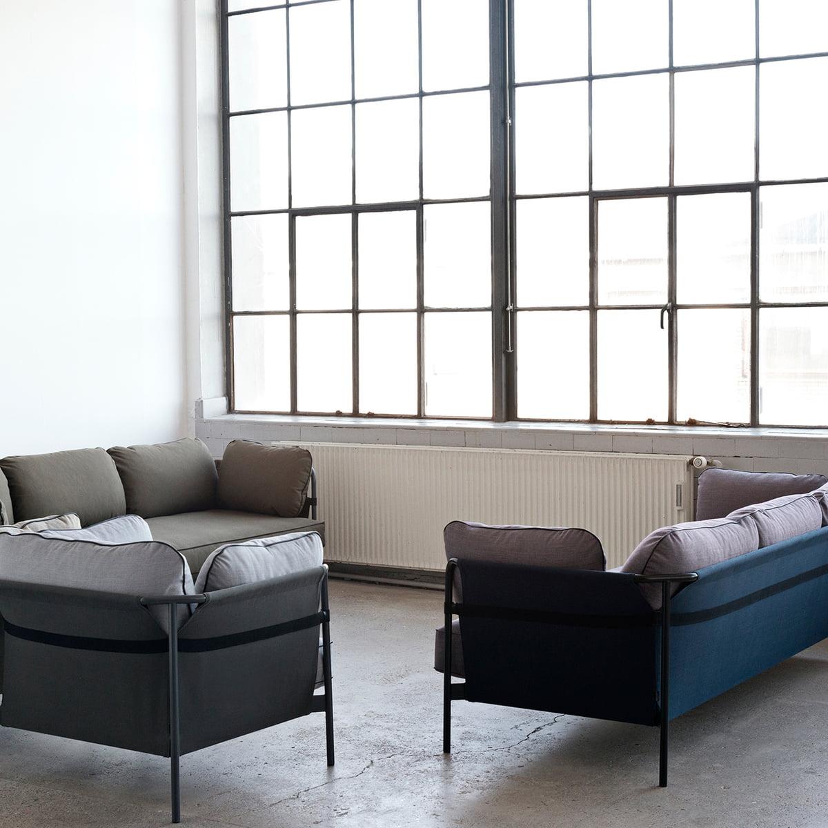 hay can sofa von bouroullec im design shop. Black Bedroom Furniture Sets. Home Design Ideas