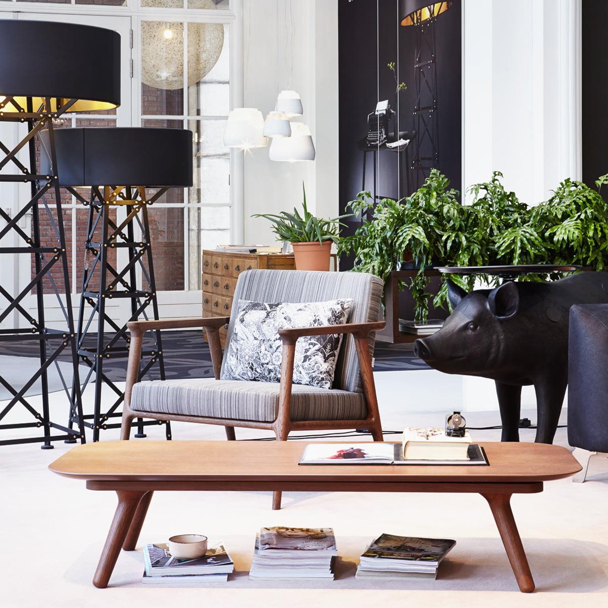 Zio lounge chair von moooi im shop kaufen for Lounge tisch