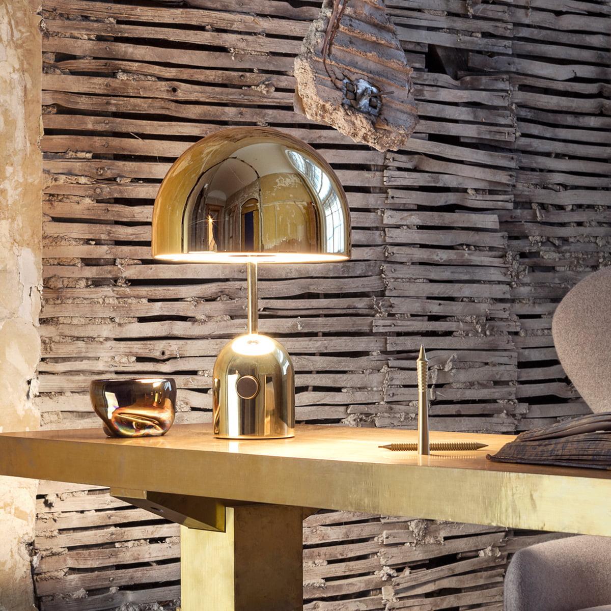 bell tischleuchte von tom dixon im shop. Black Bedroom Furniture Sets. Home Design Ideas