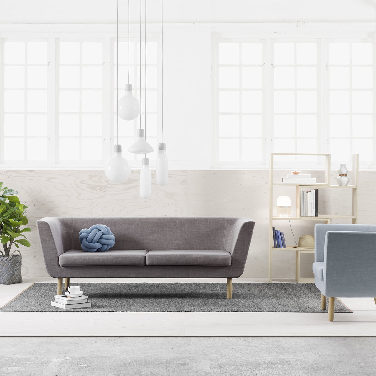 Nest Sofa Mit Extend Regal