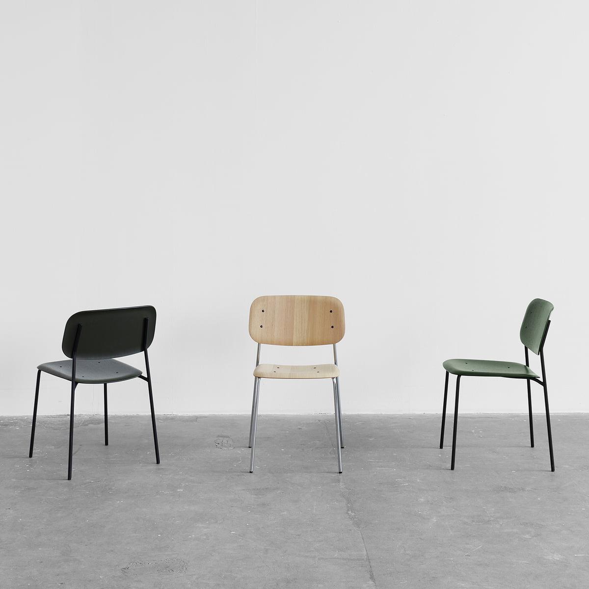 Hay Soft Edge 12 Stuhl, Eiche matt lackiert