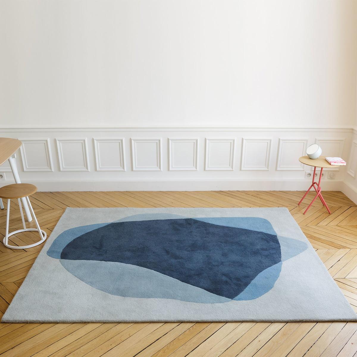 Teppich mediterran blau for Schoner wohnen janne