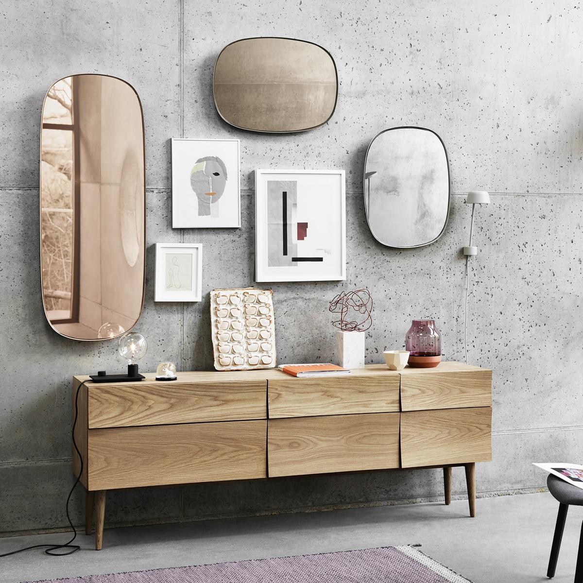 Framed mirror spiegel von muuto online - Muuto spiegel ...