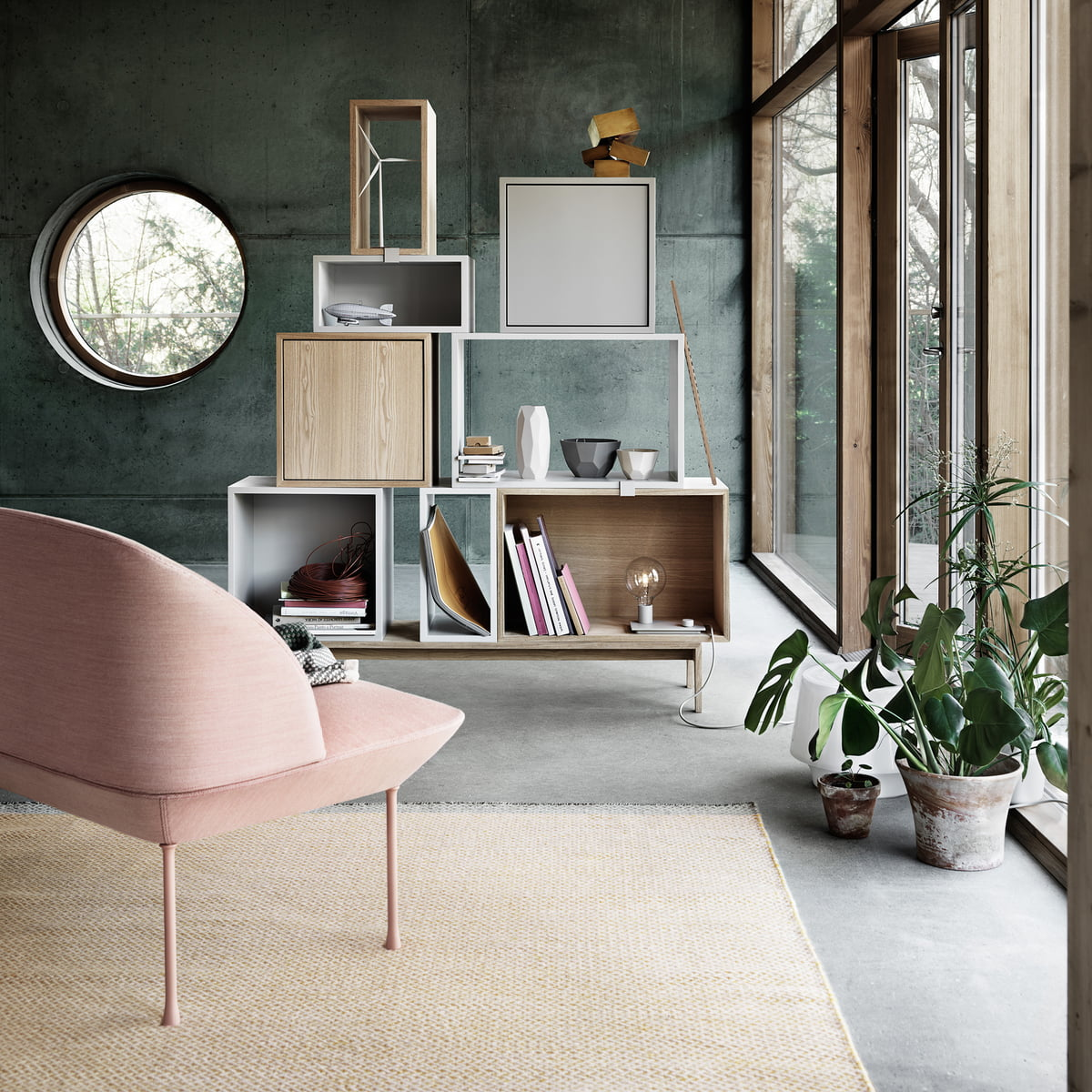 Stacked Regalsystem Esche Von Muuto Connox