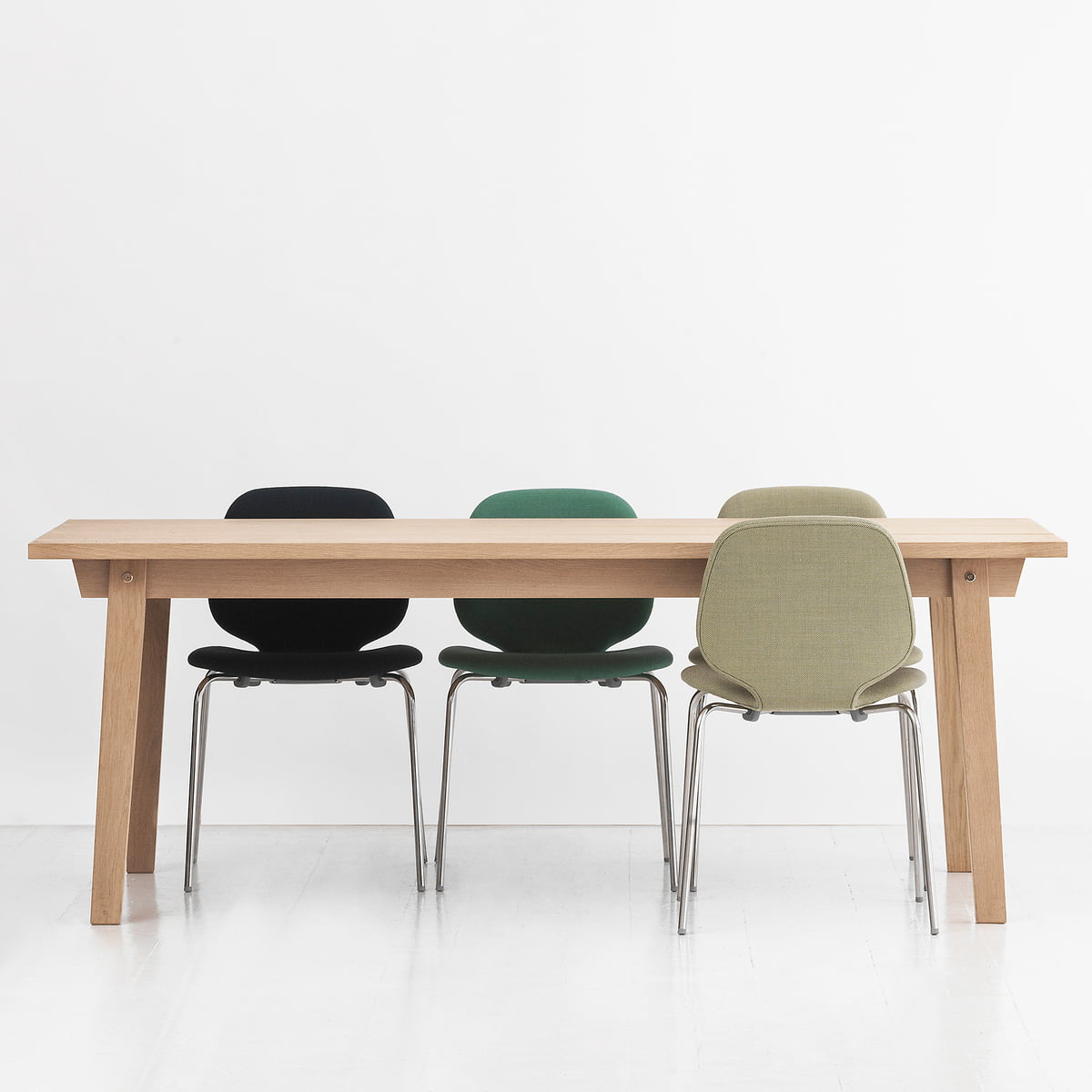 slice table wood normann copenhagen. Black Bedroom Furniture Sets. Home Design Ideas