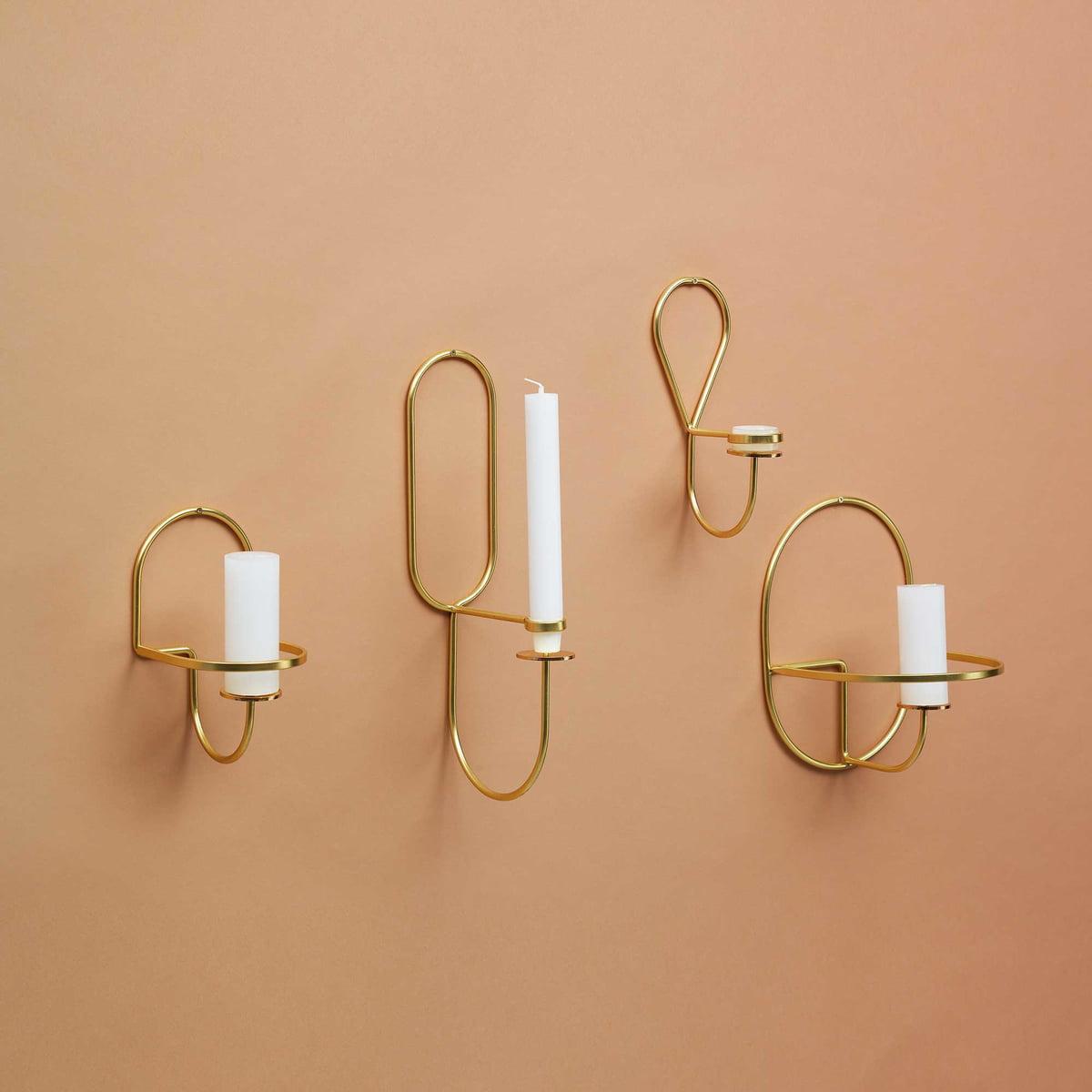 lup wand teelichthalter von hay im shop. Black Bedroom Furniture Sets. Home Design Ideas