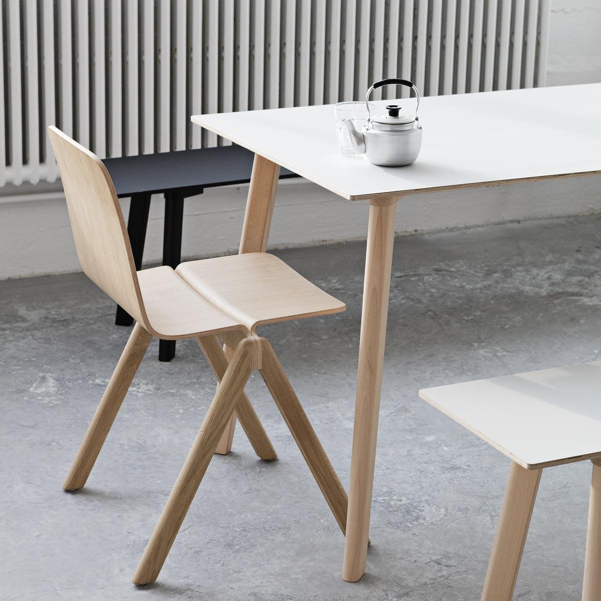 copenhague deux 210 tisch von hay kaufen. Black Bedroom Furniture Sets. Home Design Ideas