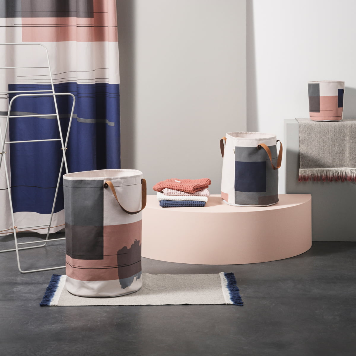 Colour Block Serie Von Ferm Living Mit Dip Mat