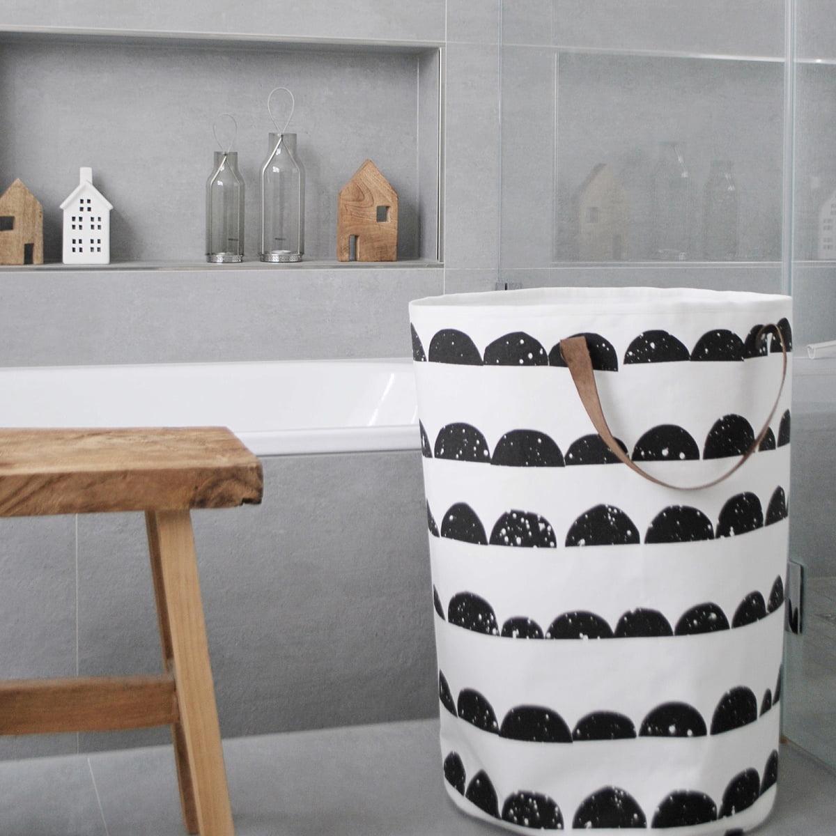 Uberlegen Half Moon Laundry Basket Von Ferm Living