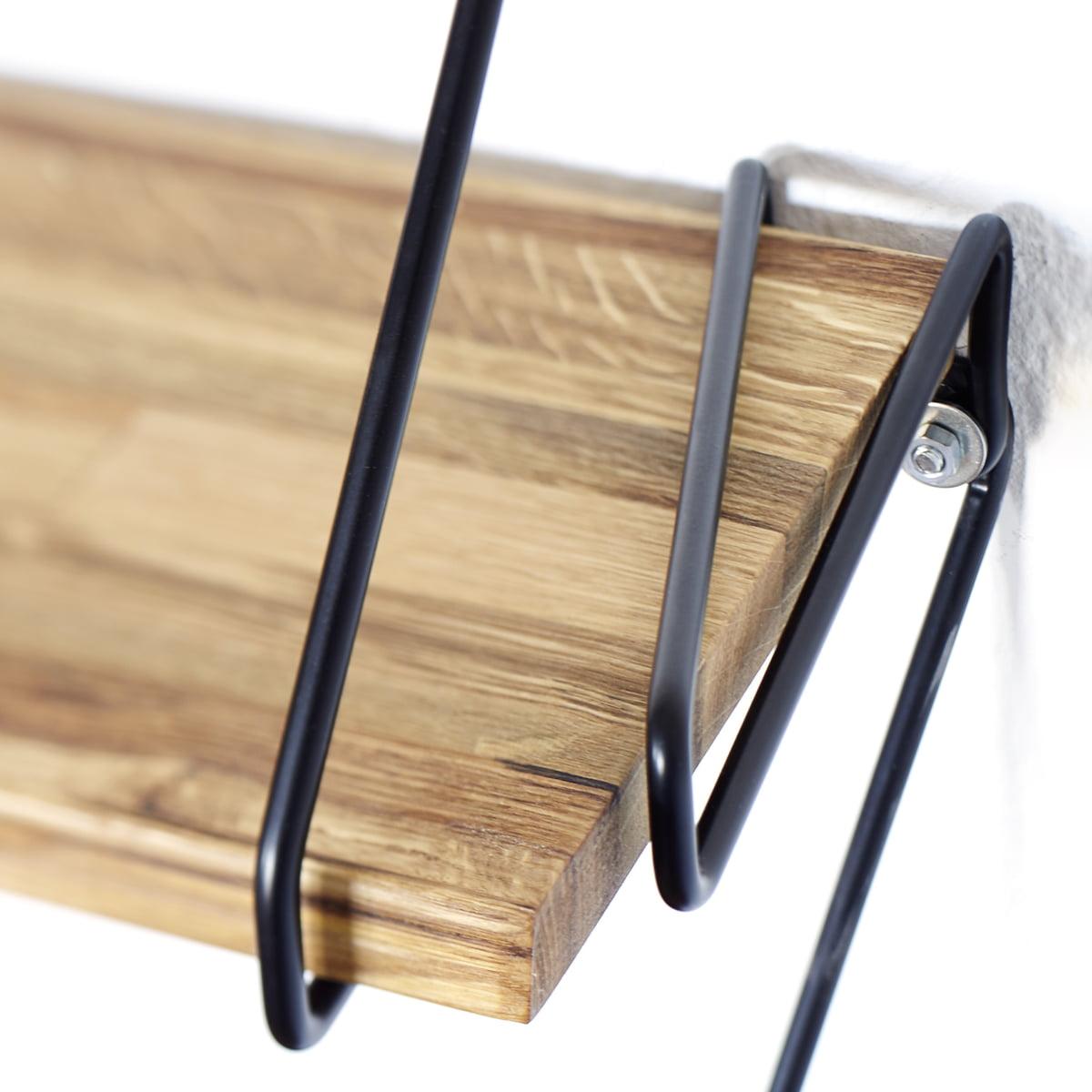 Wire Regalsystem aus Eiche | Connox Shop