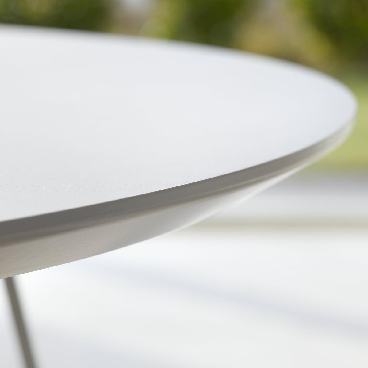 Esstisch oval weiß  Andersen Furniture - DK10 Ausziehtisch oval, weiß/eiche geölt