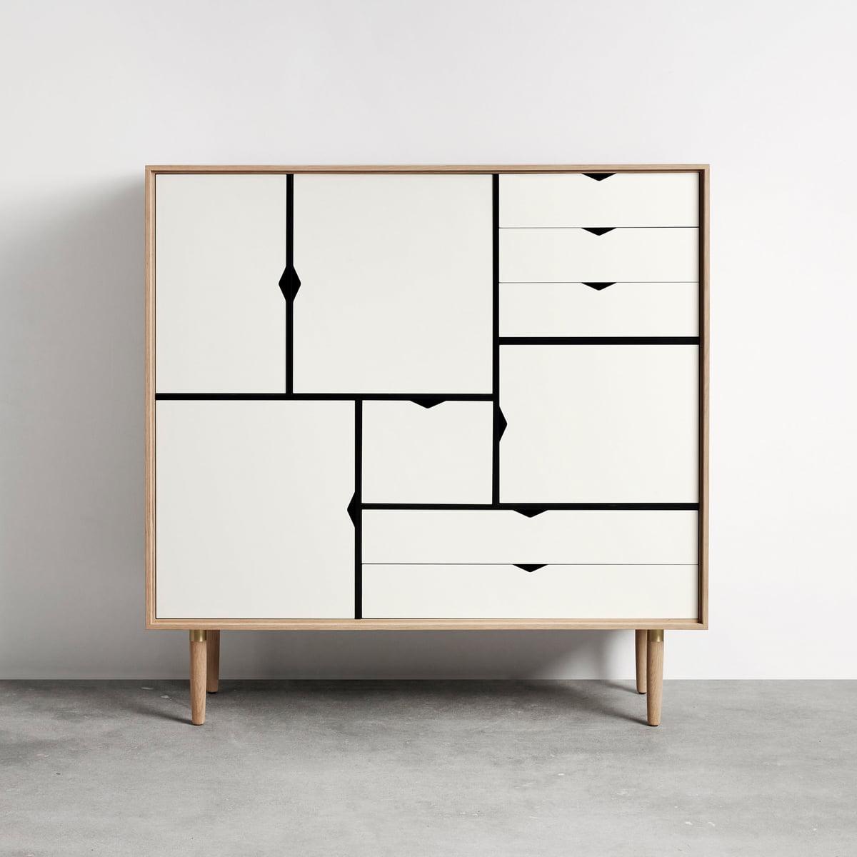 S3 kommode einfarbig von andersen furniture for Kommode 3 meter lang