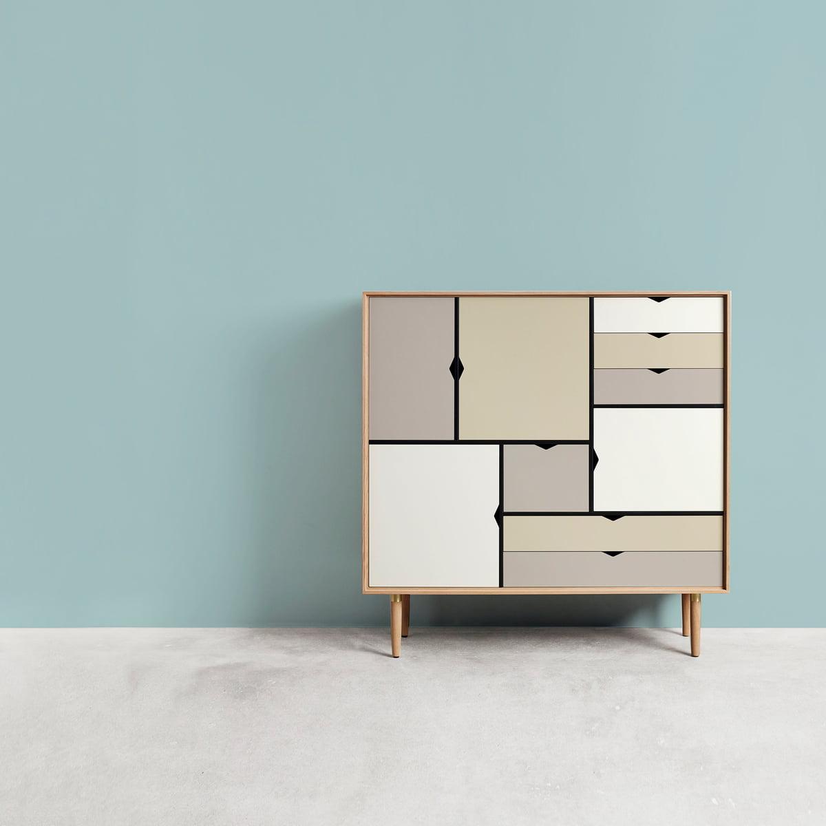 s3 kommode mehrfarbig von andersen furniture