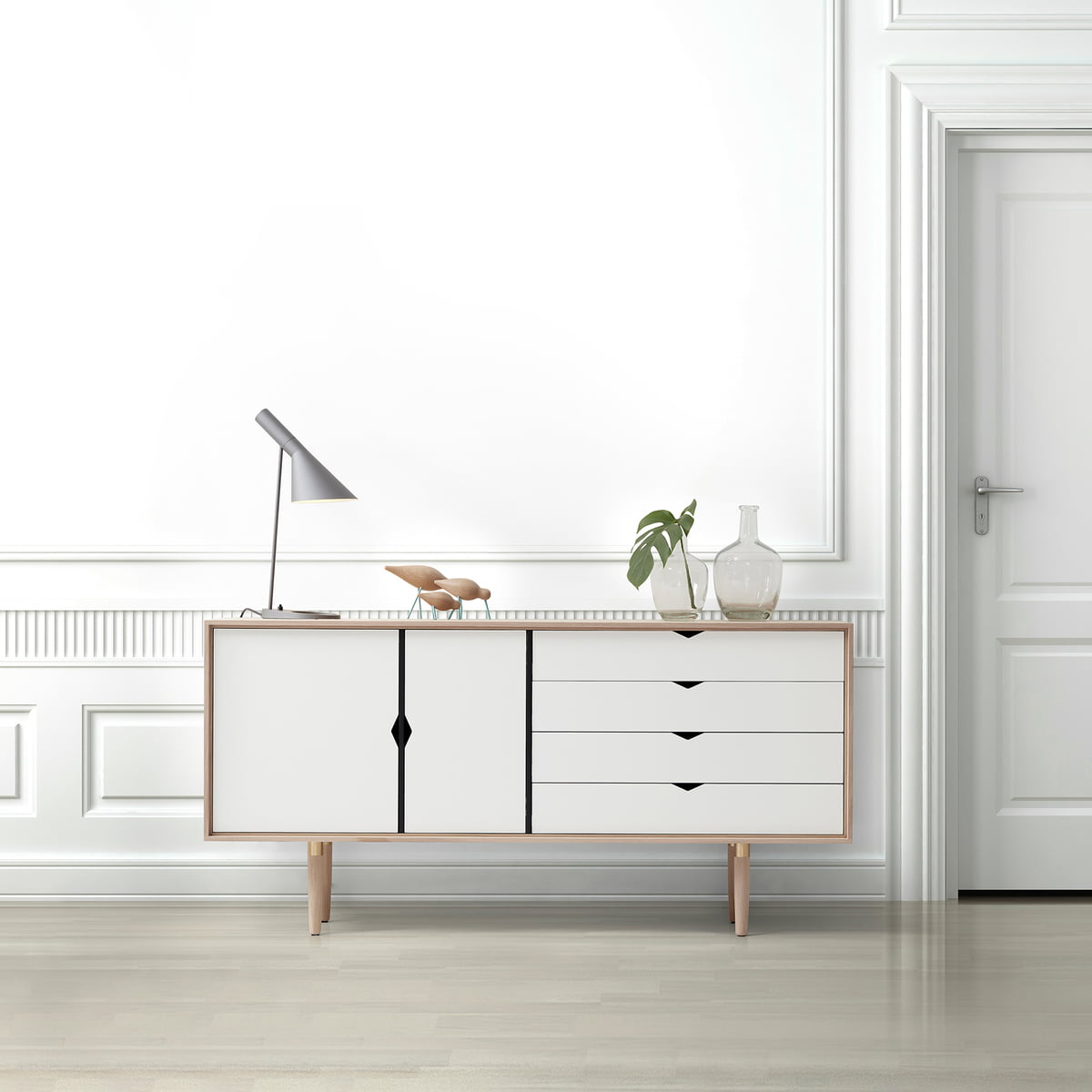 s6 sideboard einfarbig von andersen furniture. Black Bedroom Furniture Sets. Home Design Ideas