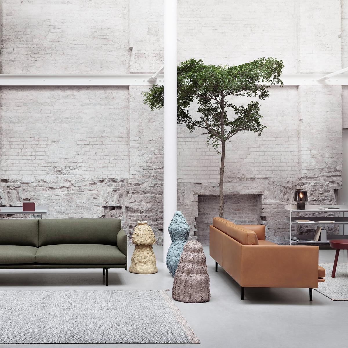 Outline Sofa 3 Sitzer Von Muuto Connox