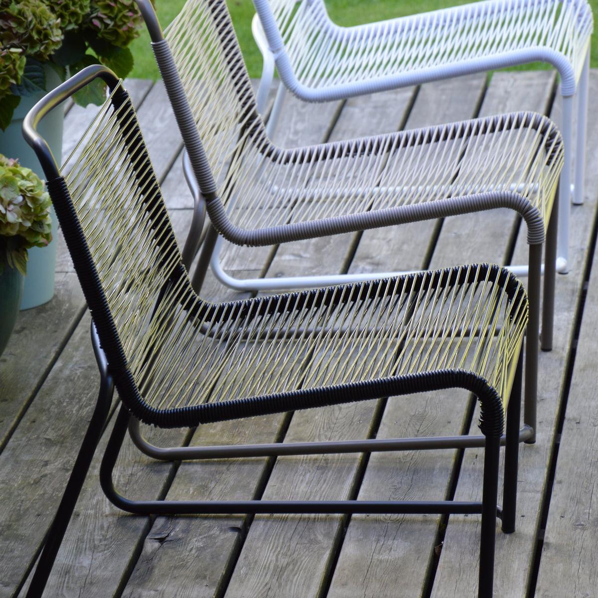 Lounge sessel schwarz weiß  Lido Lounge-Sessel von Fiam   Connox Shop