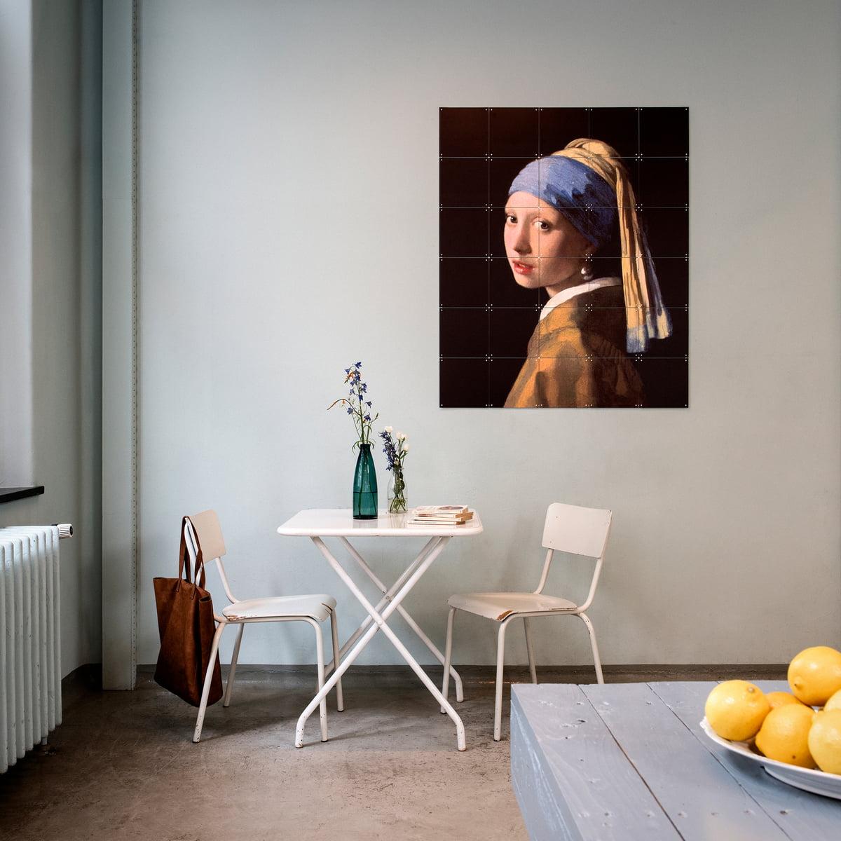 m dchen mit dem perlenohrring vermeer von ixxi. Black Bedroom Furniture Sets. Home Design Ideas