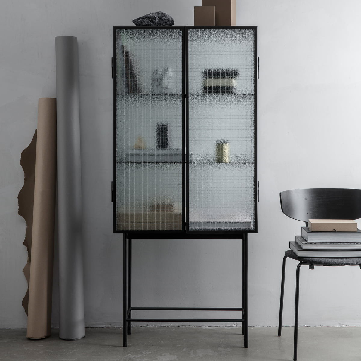 haze vitrine von ferm living connox shop. Black Bedroom Furniture Sets. Home Design Ideas