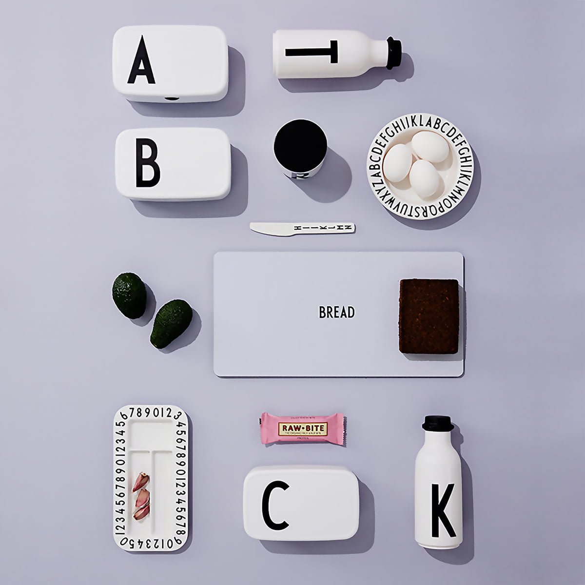 Melamin besteck set von design letters im shop for Design im shop