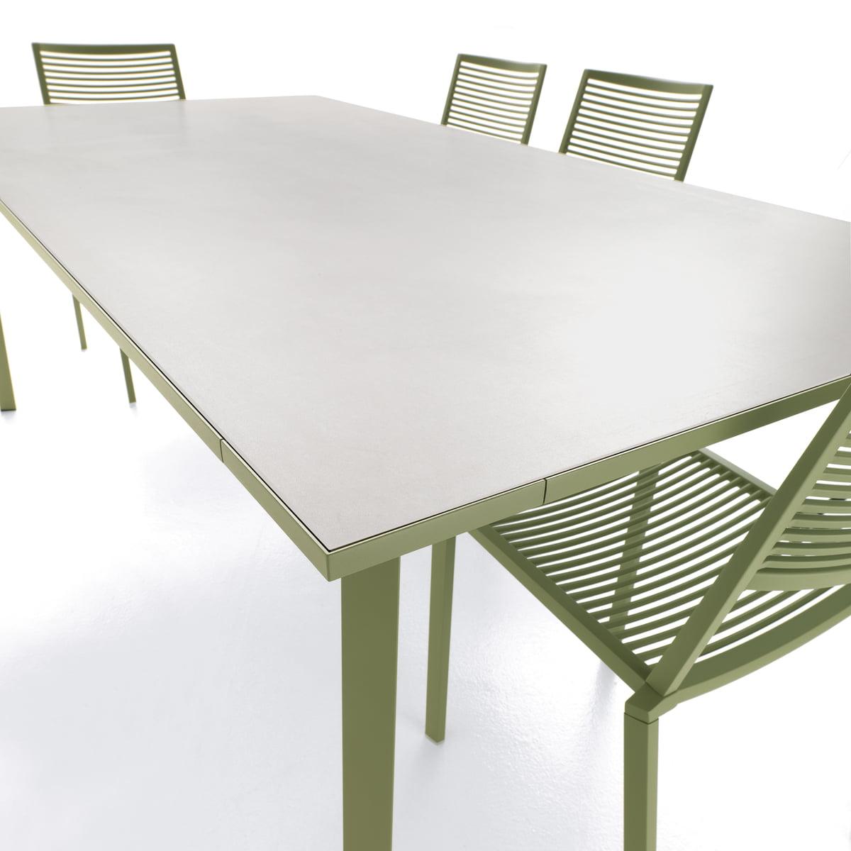 Fast Tile Tisch, 100 x 100 cm, weiß