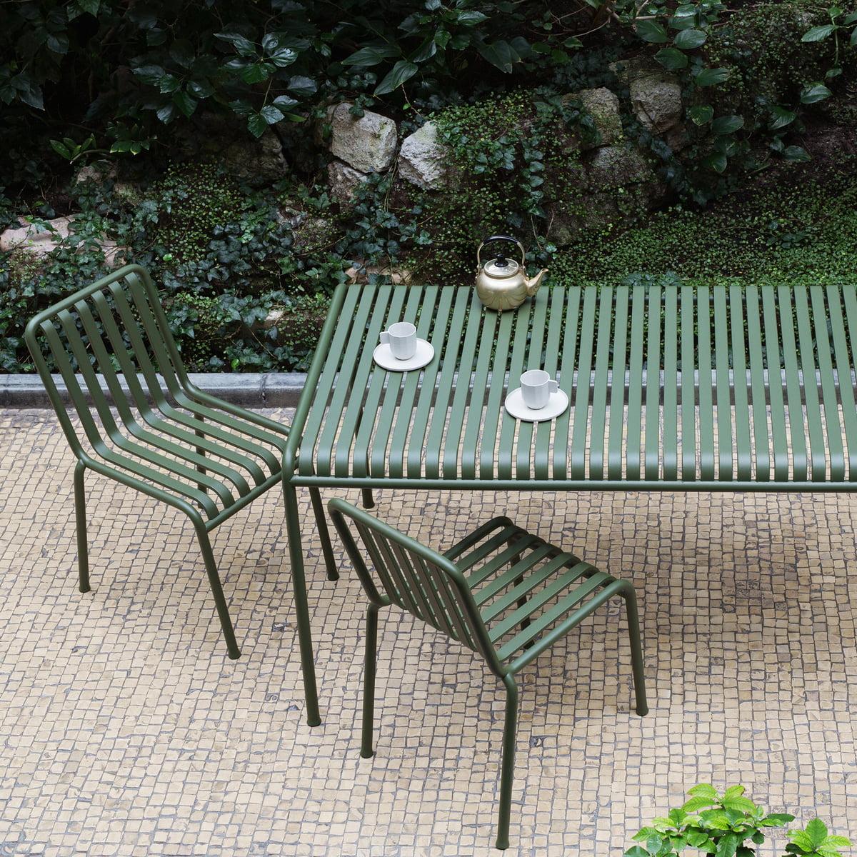 palissade tisch rechteckig von hay connox. Black Bedroom Furniture Sets. Home Design Ideas