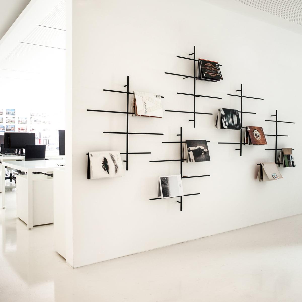 sch nbuch sketch zeitungshalter connox shop. Black Bedroom Furniture Sets. Home Design Ideas