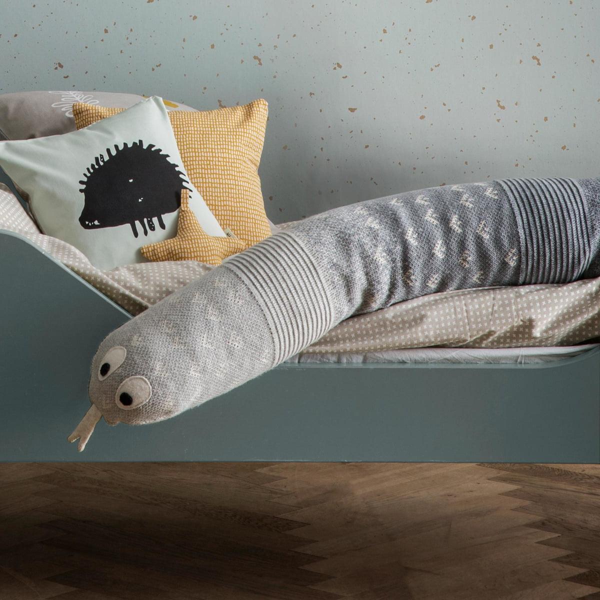 grey cross junior bettw sche von ferm living. Black Bedroom Furniture Sets. Home Design Ideas