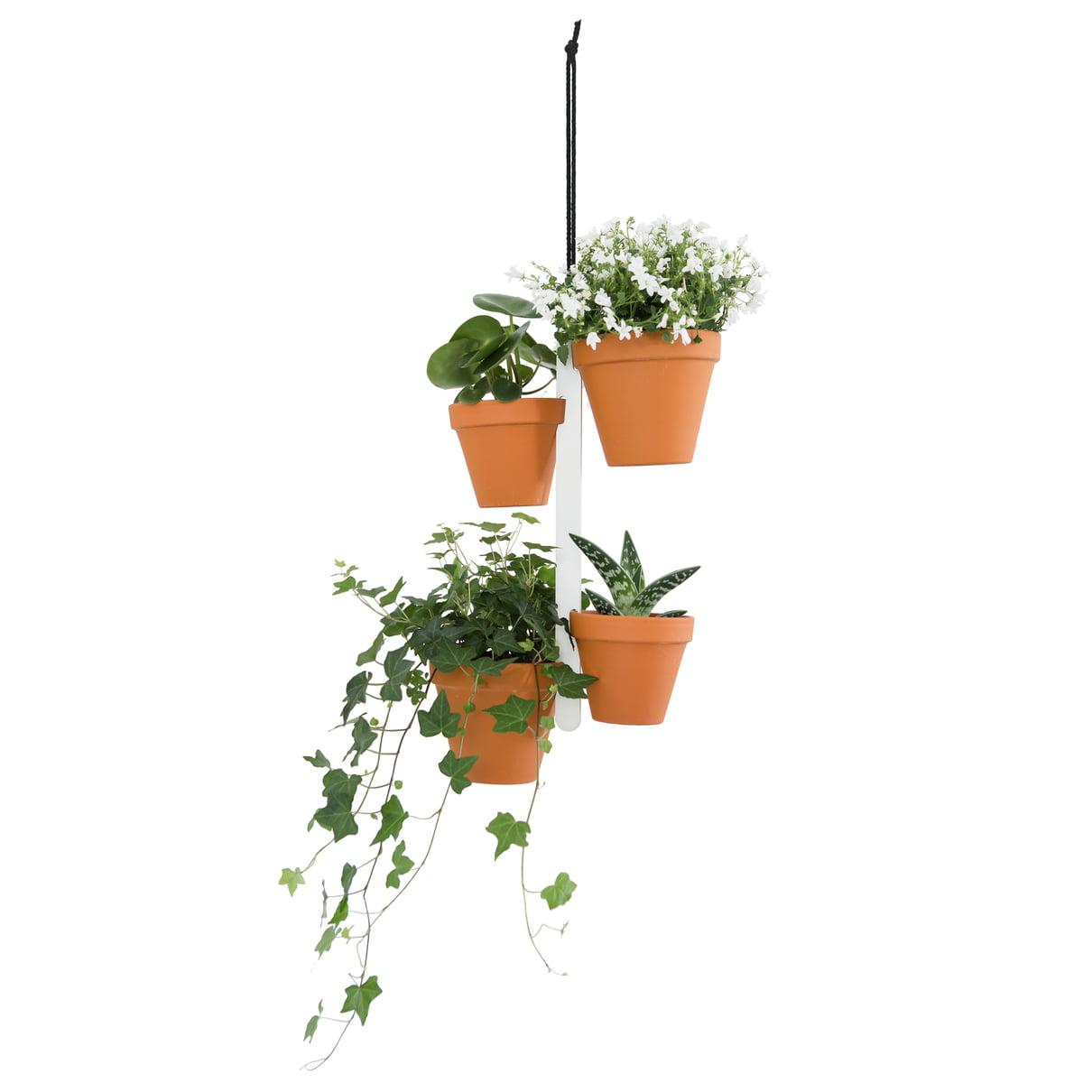 Connox Collection Hitch A Pot Blumentopfhalter 4 Haken
