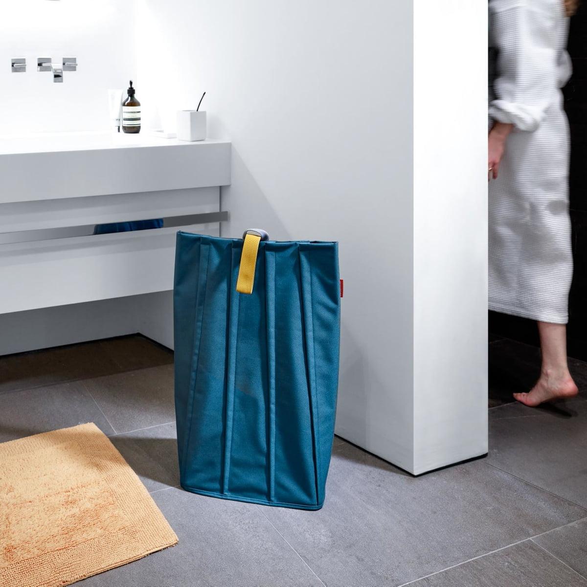 Möbel & Wohnen Reisenthel Laundrybag M Wäschekorb Wäschesammler Wäschebeutel Light Grey 25 L
