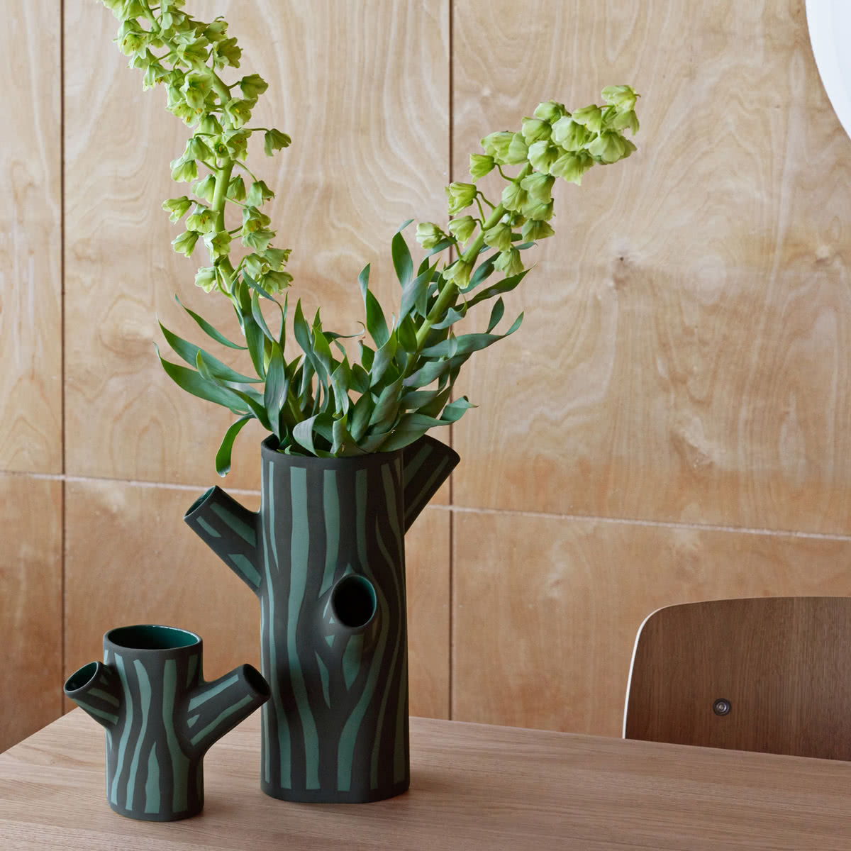 Tree trunk vase von hay connox shop kaufen die hay tree trunk vase in s und m grn reviewsmspy