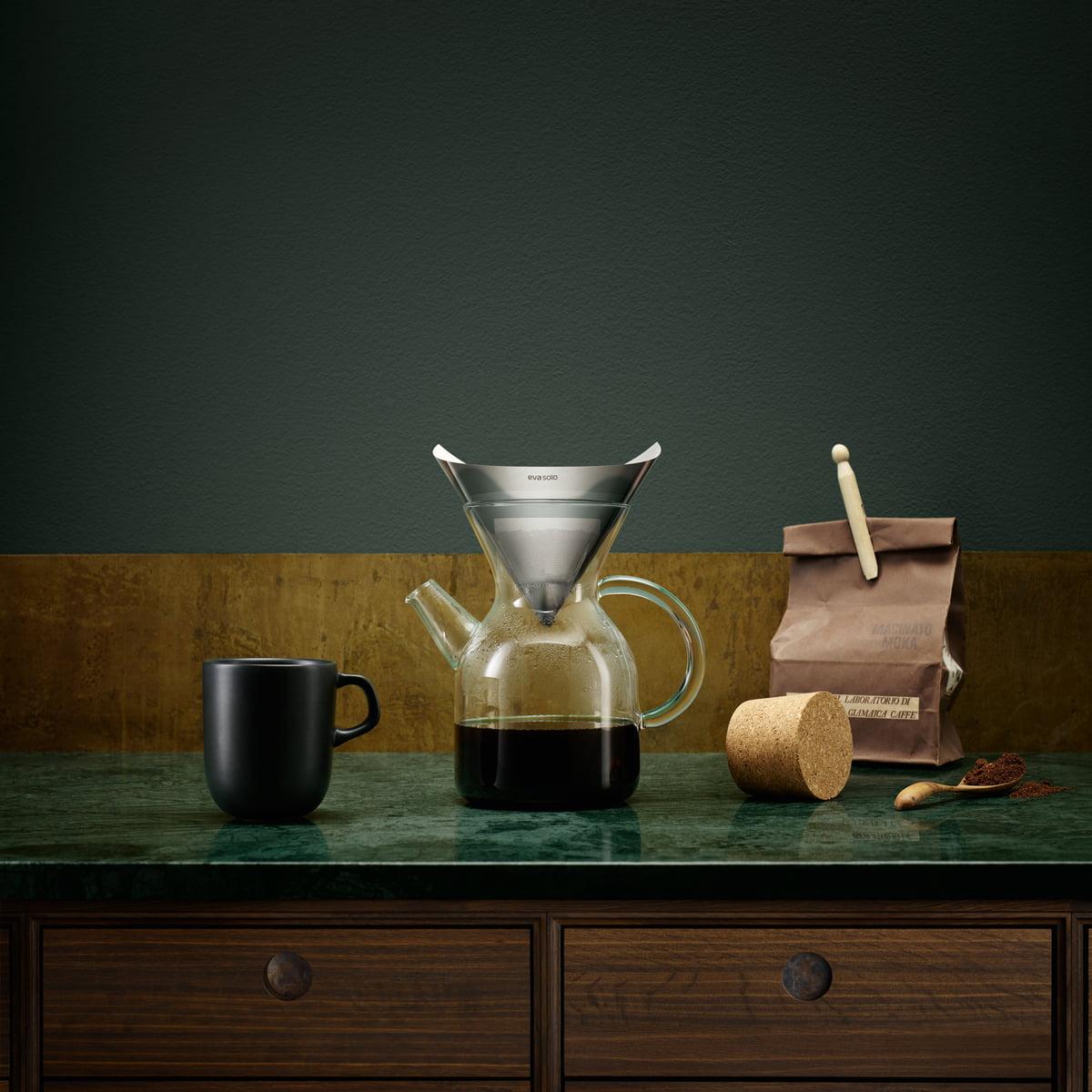 pour over kaffeebereiter von eva solo kaufen. Black Bedroom Furniture Sets. Home Design Ideas