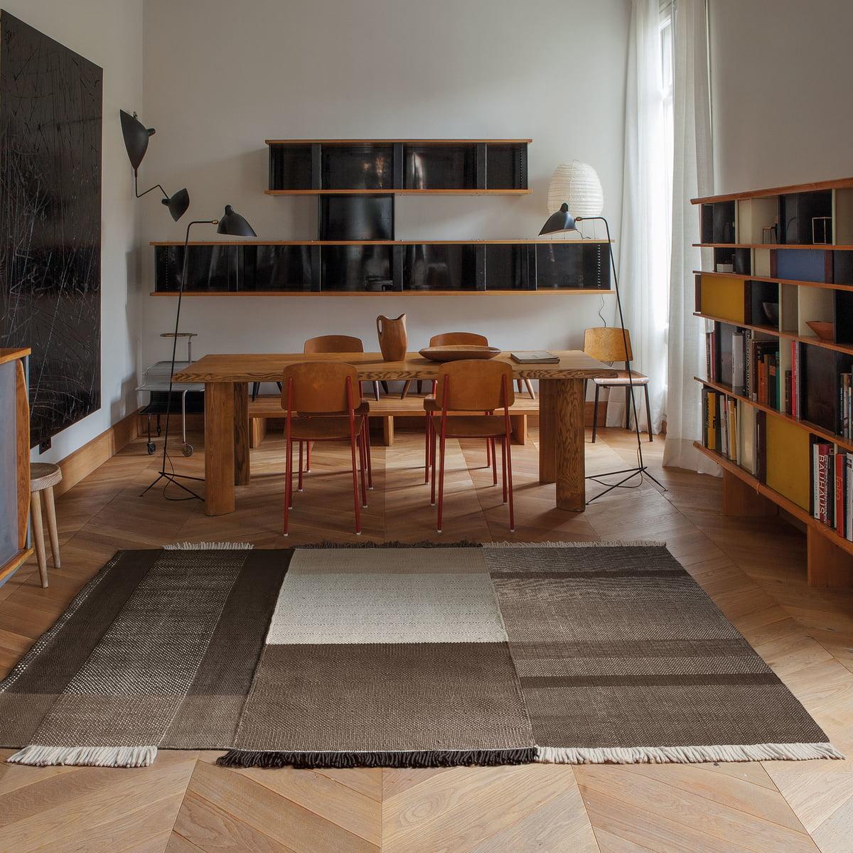 tres teppich von nanimarquina connox shop. Black Bedroom Furniture Sets. Home Design Ideas