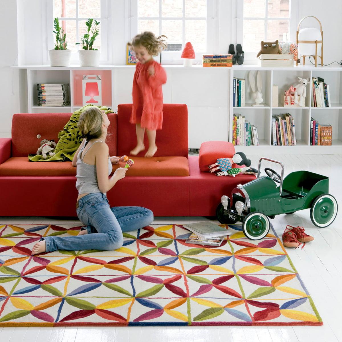 Kala teppich von nanimarquina connox shop for Vitra design teppich
