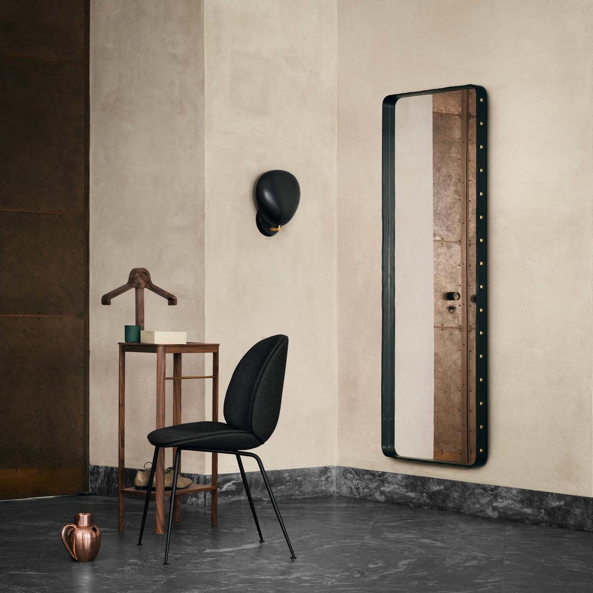 eckiger adnet spiegel von gubi kaufen. Black Bedroom Furniture Sets. Home Design Ideas